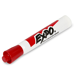 Dry Erase Markers - Red H-748R