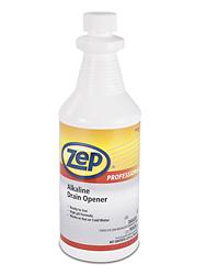 Zep 174 Alkaline Drain Opener 32 Oz S 15851 Uline