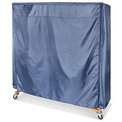 Nylon Clothes Rack Cover 66 X 63 X 26 Quot Blue S 17936