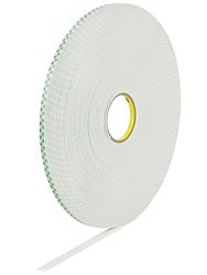 3m 4008 Heavy Duty Double Sided Foam Tape 3 8 Quot X 36 Yds