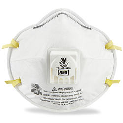 block letter a 3m 8210v n95 industrial respirator with valve s 20627 uline 20627 | S 20627 M