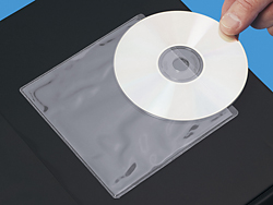 Standard Cd Sleeves With Adhesive Back 5 X 5 Quot S 5005