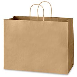 Paper Shopping Bags 16 X 6 X 12 Quot Kraft S 7099
