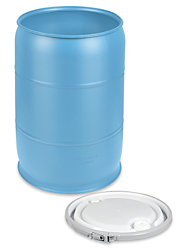55 gallon plastic barrel
