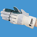 Sidekick Double Palm Leather Gloves
