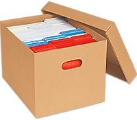 Storage File Boxes Archival Photo Storage Boxes In Stock
